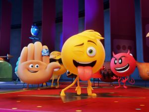 A still from Emoji Movie.
