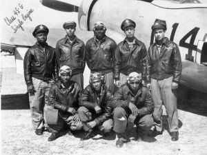 Tuskegee Airmen and P-47.