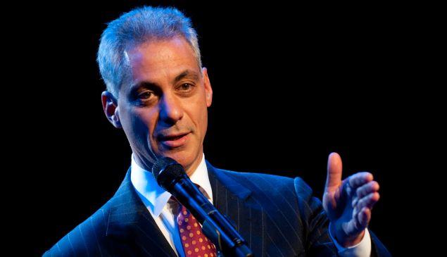 Mayor Rahm Emanuel.