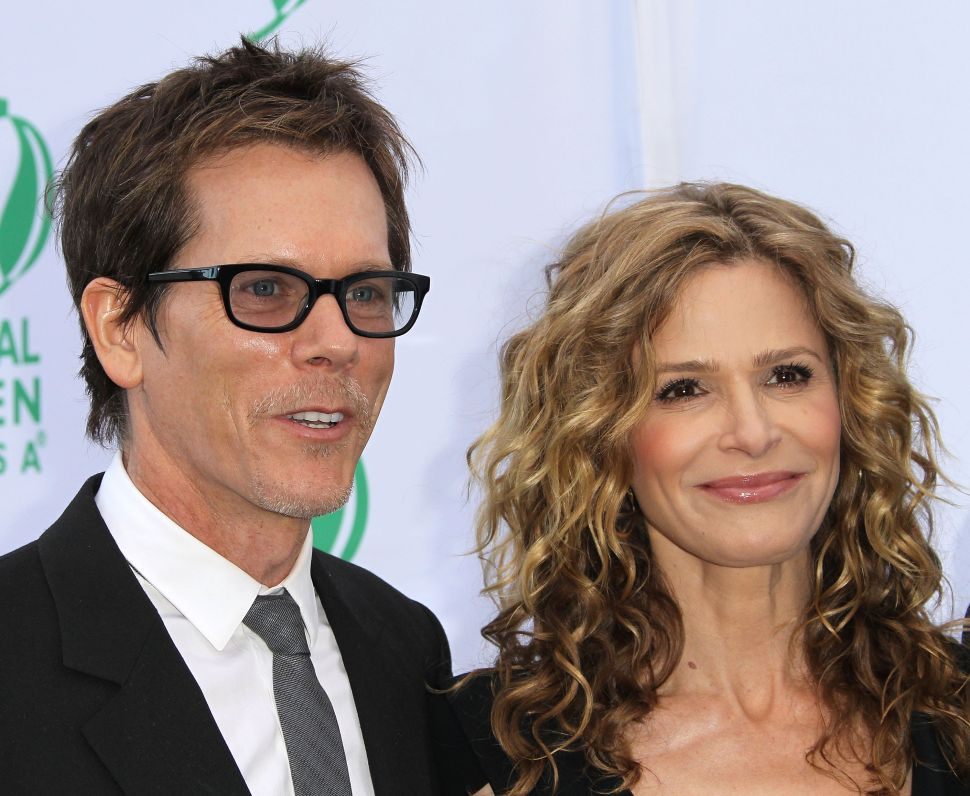 Kyra Sedgwick and Kevin Bacon Find Out They Are Cousins