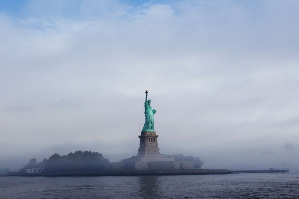 Trump's Immigration Policy Continues Tradition of Ignoring Statue of Liberty Poem