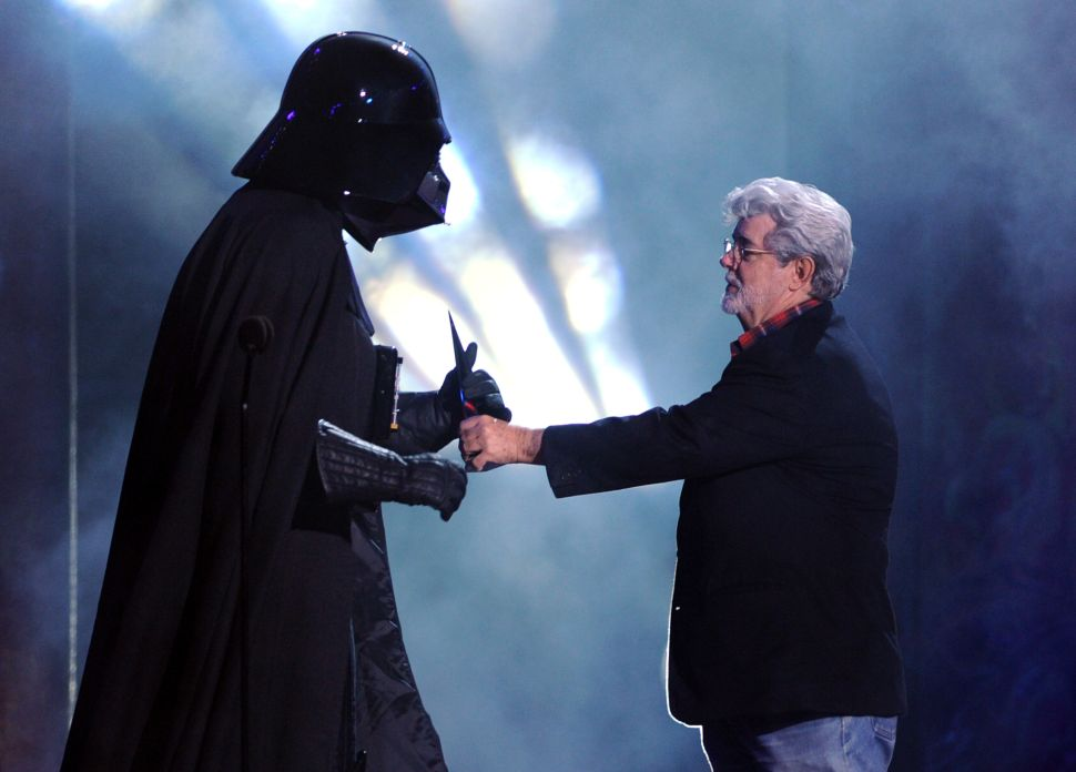 It Sounds Like George Lucas Still Kind of Wants to Be Involved in 'Star Wars'