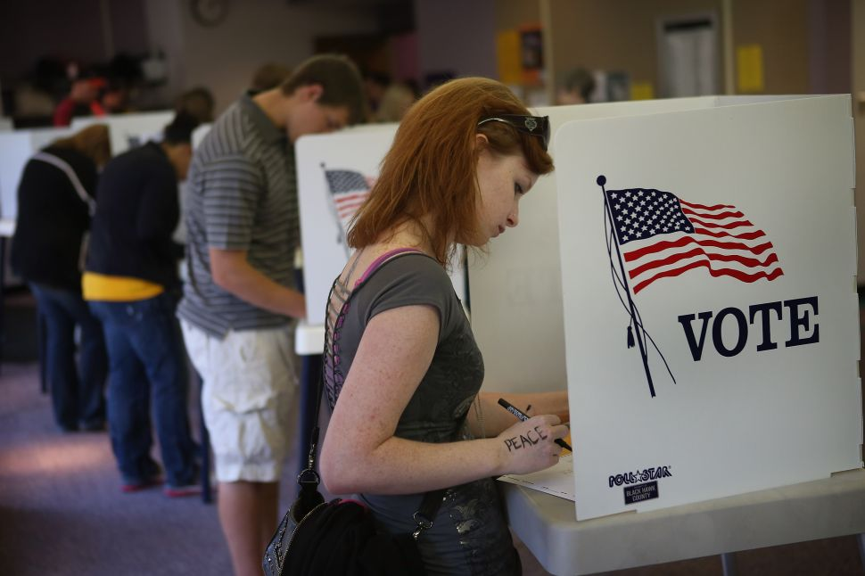 The Kids Are All Right: College-Age Voters Lean Conservative