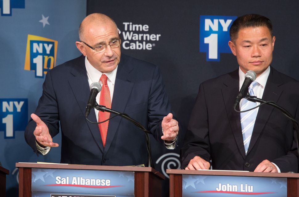 Democratic Primary Debate Set Between Bill de Blasio, Sal Albanese