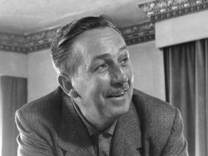 Walt Disney (1901 - 1966).