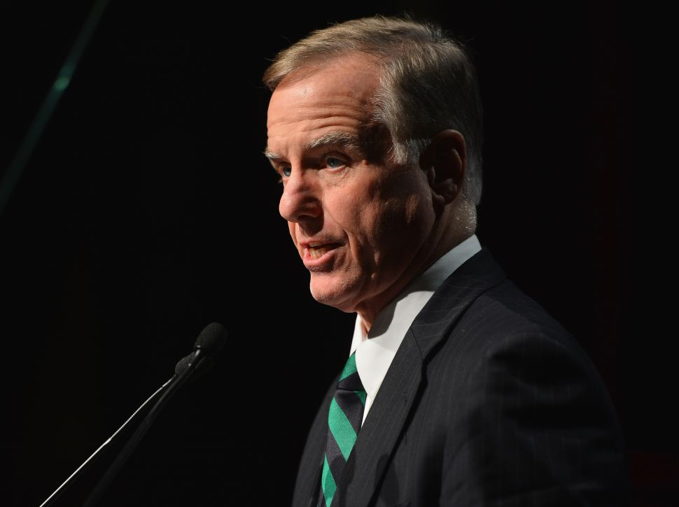 Howard Dean Embraces Clinton Super PAC Role, Calls Left 'Whiny'