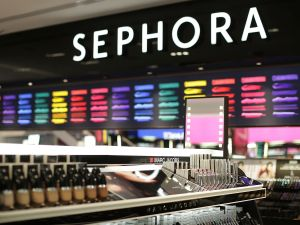 Inside Sephora's Sydney store.