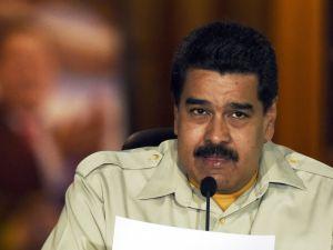Venenzuelan President Nicolas Maduro.