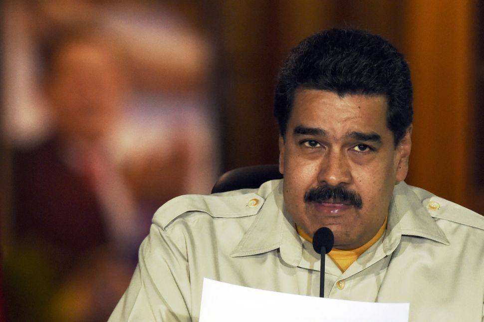 Trump Needs to Slap Sanctions on Maduro—Not the Venezuelan People