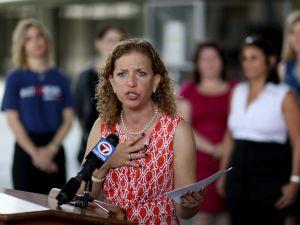 Former DNC Chair Debbie Wasserman Schultz.