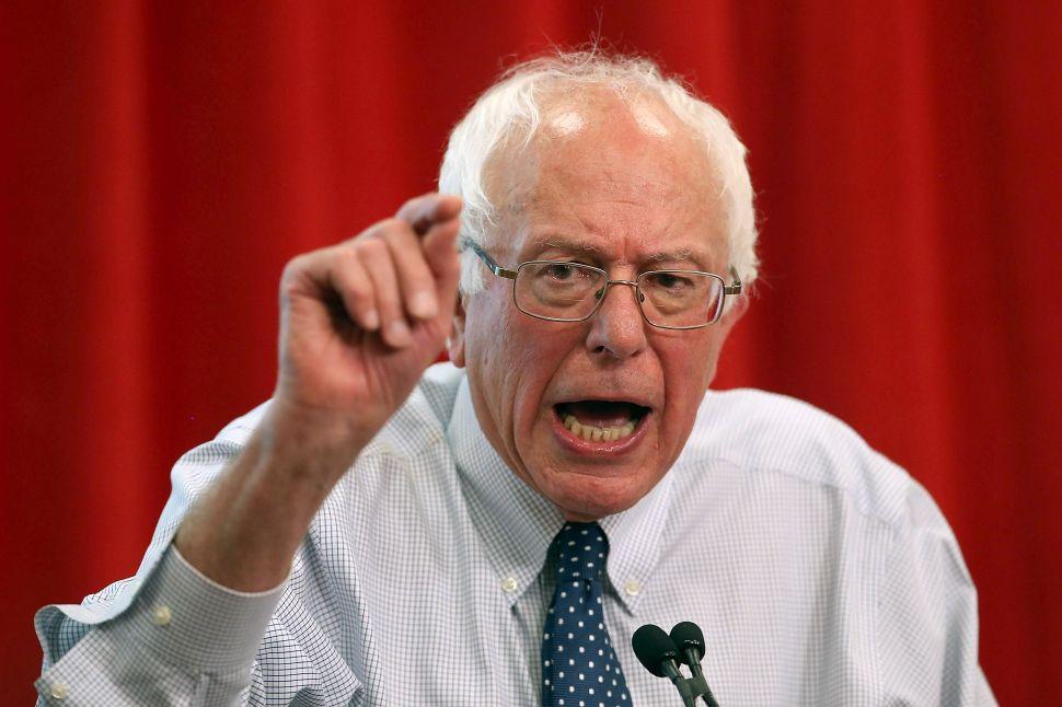 The DNC Tone Police Return to Patrol Bernie Sanders' Political Revolution