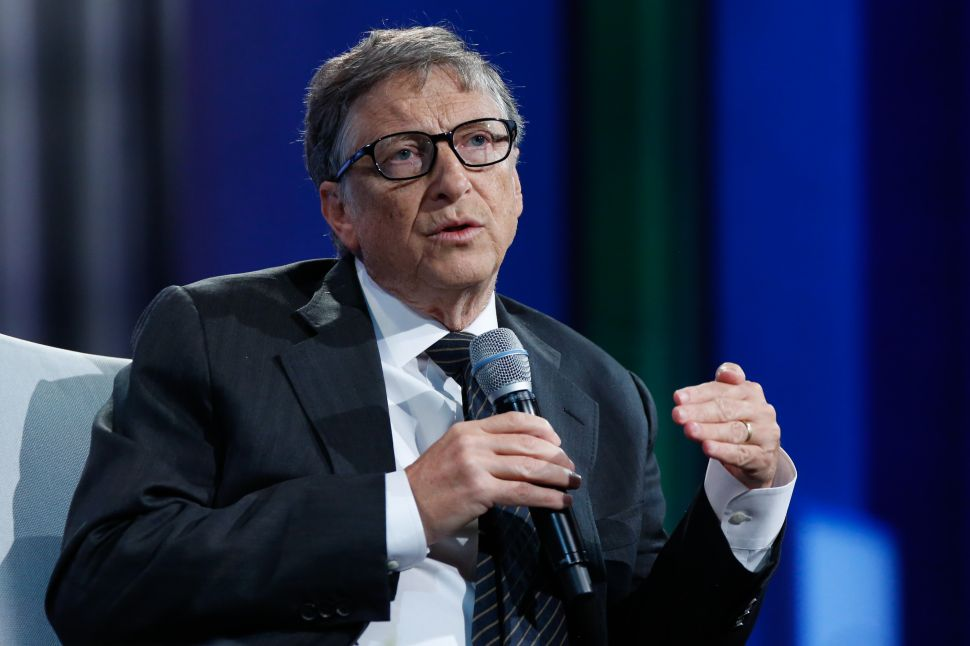 Bill Gates Spent His Summer Giving Away Nearly $5 Billion in Microsoft Shares