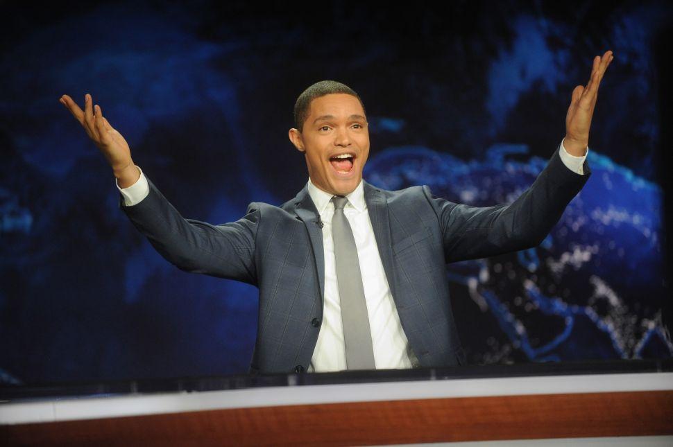How Trevor Noah Spun Trump's Election Into Late Night Gold