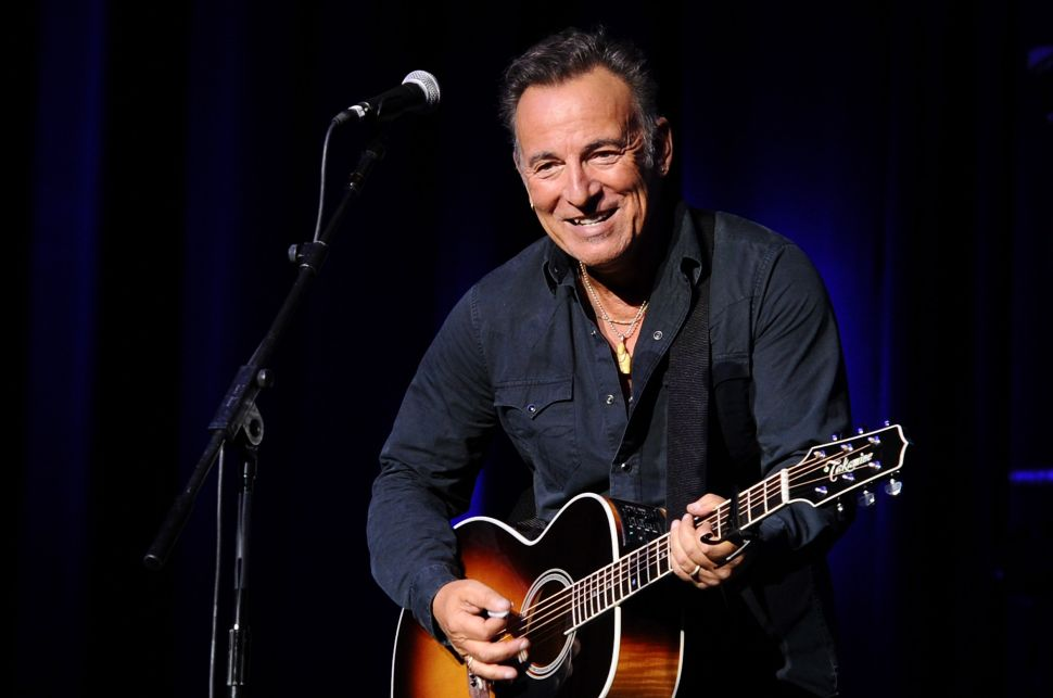 Bruce Springsteen Could Be Going for the EGOT as He Makes Broadway Debut