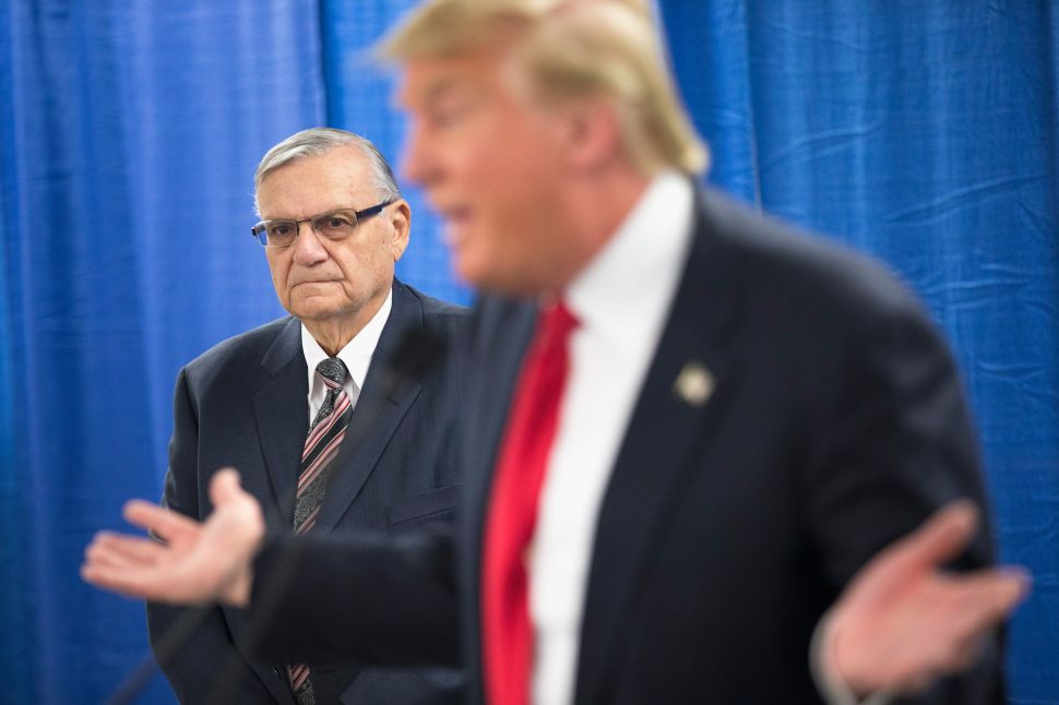With Arpaio Pardon, Trump Reigns Above the Law—and Robert Mueller