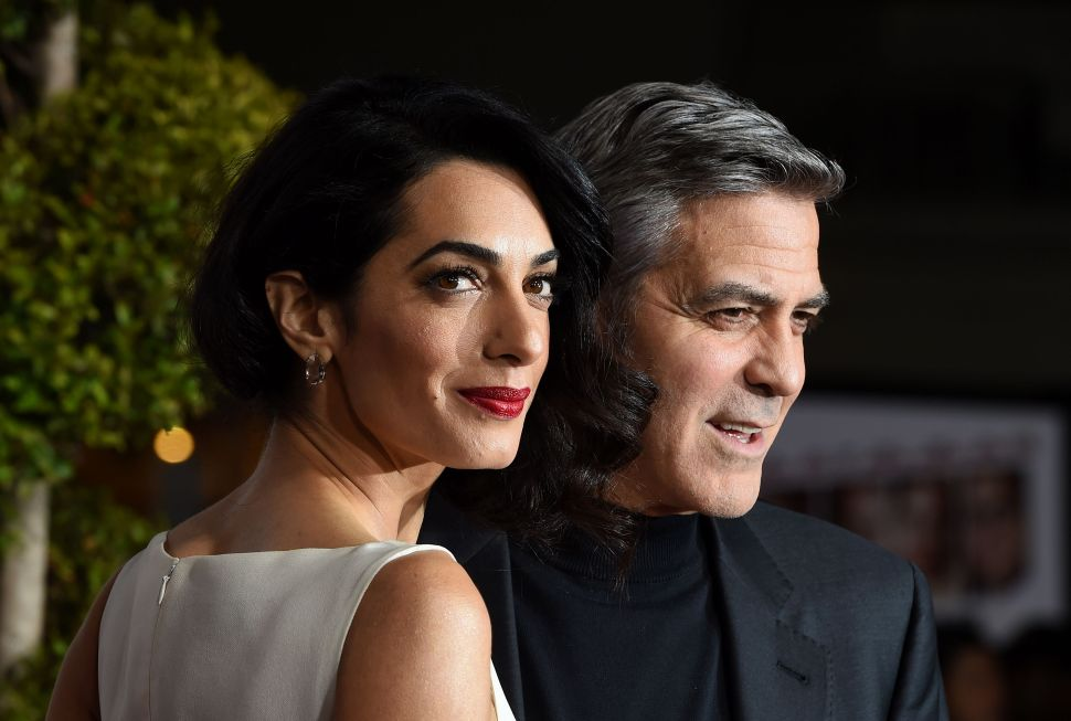 George and Amal Clooney Are Sending Thousands of Syrian Refugees to School