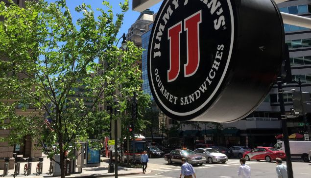 Jimmy John's tried to stop its workers from toiling for other sandwich makers.