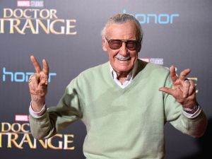 "HOLLYWOOD, CA - OCTOBER 20: Stan Lee attends the Premiere of Disney and Marvel Studios' ""Doctor Strange"" on October 20, 2016 in Hollywood, California. (Photo by Frazer Harrison/Getty Images)"