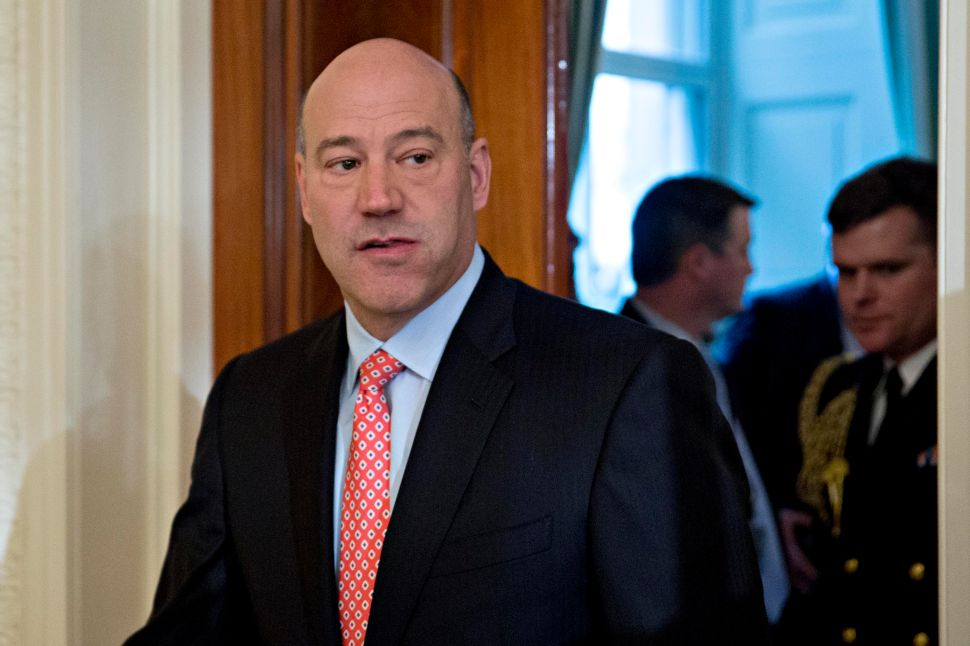 Gary Cohn Stomachs Neo-Nazi Pandering—as Long as Precious Tax Cuts Happen