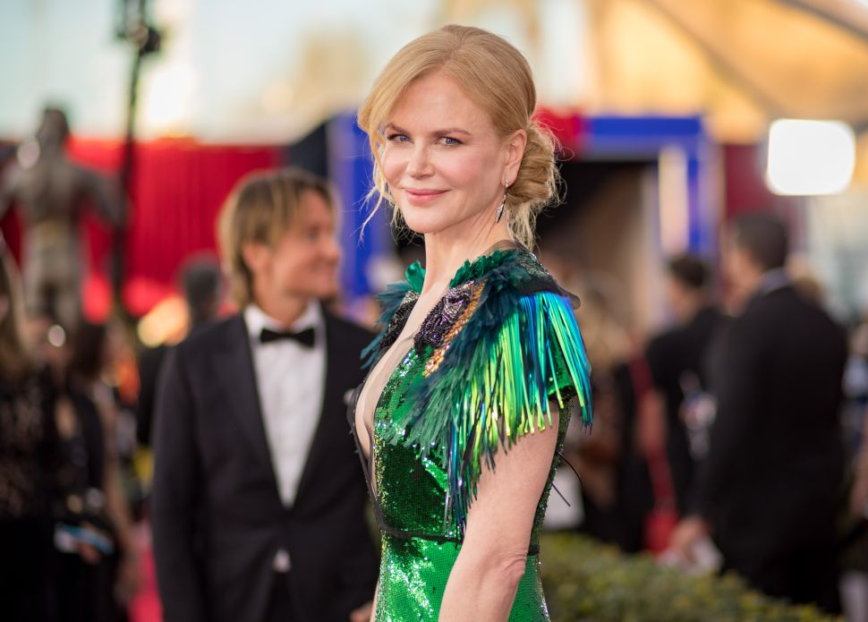 Nicole Kidman Praises TV as a Great Supporter of Women—CBS Doesn't Get the Message
