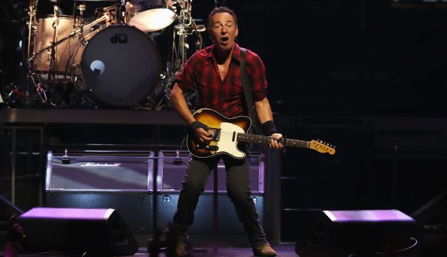 Once again, Bruce Springsteen is taking care of his own.