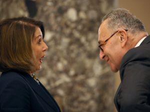 Senate Minority Leader Charles Schumer and House Minority Leader Nancy Pelosi.