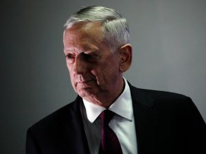 Defense Secretary James Mattis.