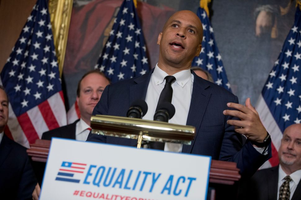 Cory Booker's New Bill Would Guarantee Jobs to Everyone in 15 Local Areas