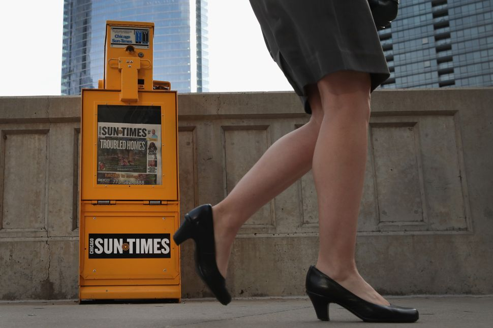 How Union Stakes in Ailing Papers Like the Chicago Sun-Times May Keep Them Alive