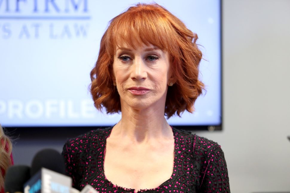 Kathy Griffin Still Going After Donald Trump