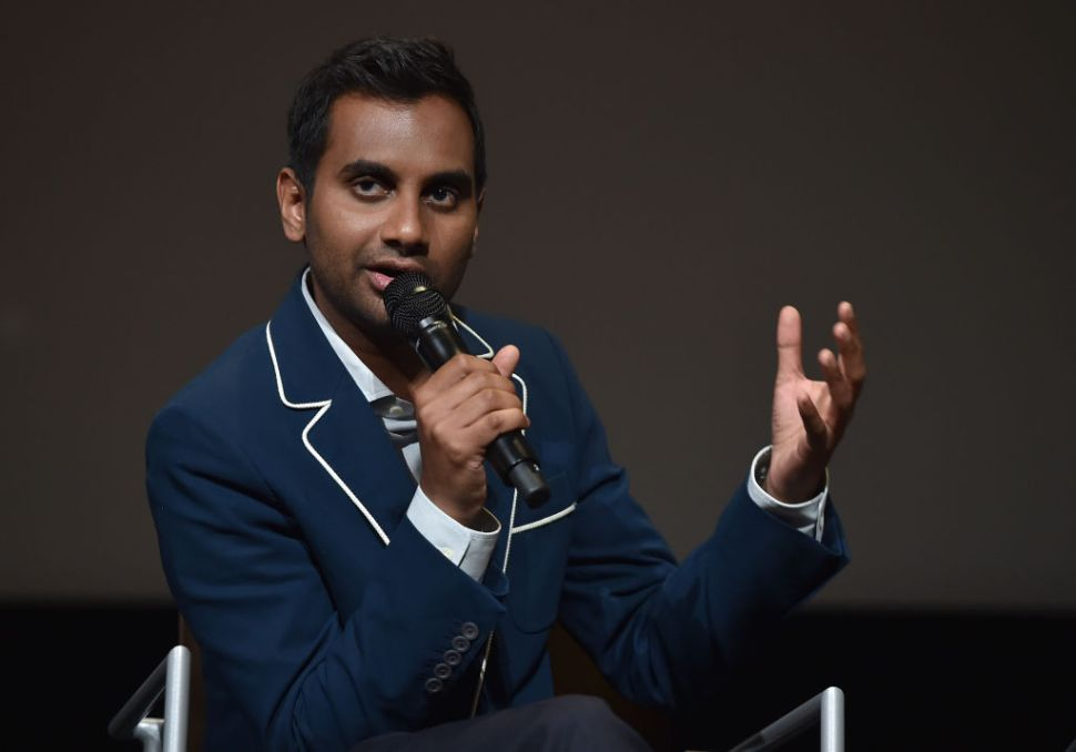Don't Let Aziz Ansari Make You Feel Guilty About Using Your Phone