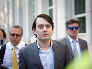 Ex-pharmaceutical executive Martin Shkreli.