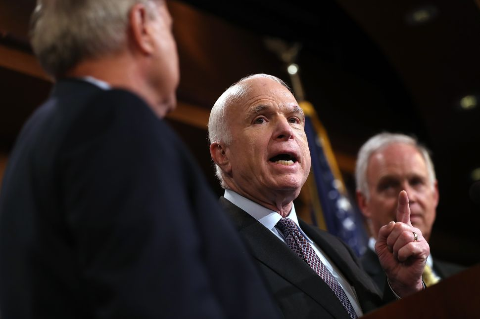All Hail the Age of Order: McCain and Kelly Usher in New Renaissance