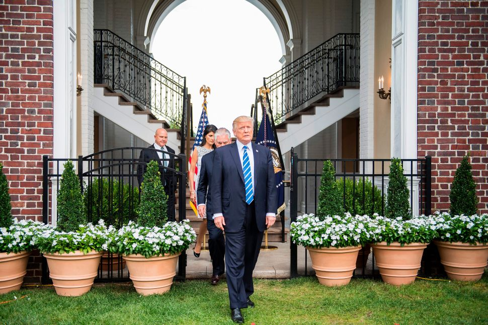 NJ Nonprofit Pulls Event from Trump Golf Club After Charlottesville