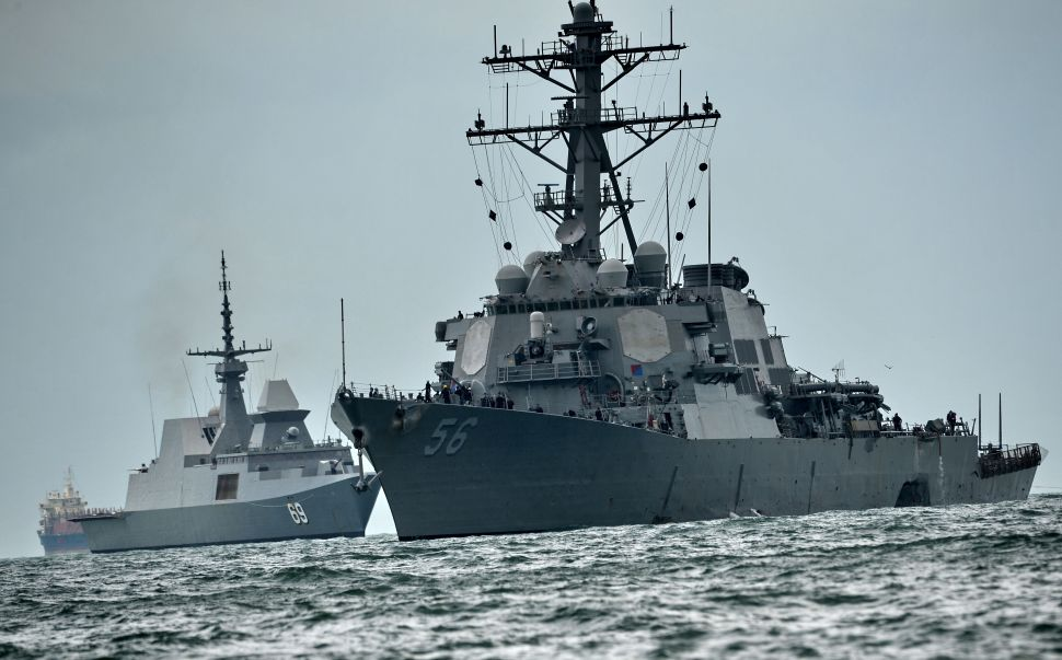 Naval Mishaps Reveal Pentagon's Far Larger Vulnerability