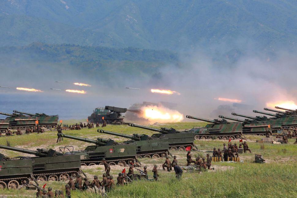 Firebrand Trump Strategizes 'All Options' North Korea Approach