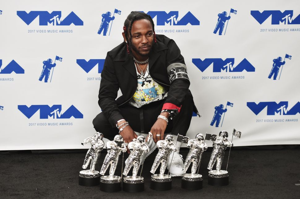 Kendrick Lamar's Outfit Was Also a Big Winner at the VMAs