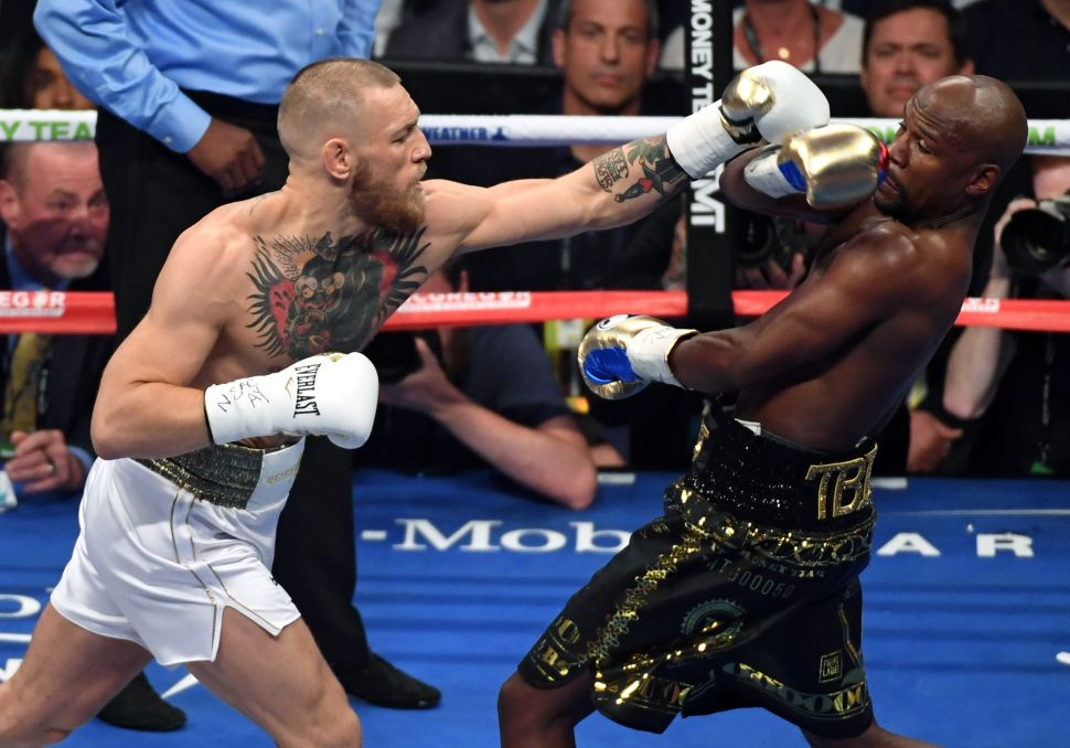 Illegal Streamers Get Their Hands on Conor McGregor-Floyd Mayweather PPV