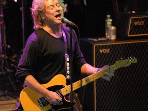 NEW YORK - OCTOBER 13: Eric Carmen of The Raspberries in concert at the Highline Ballroom New York City October 13 2007
