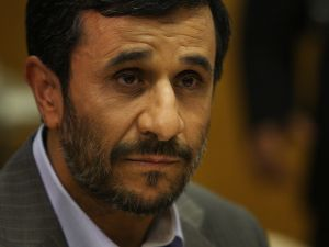 Former Iranian President Mahmoud Ahmadinejad.