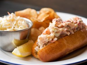 The Lobster Roll at Island Creek Oyster Bar.