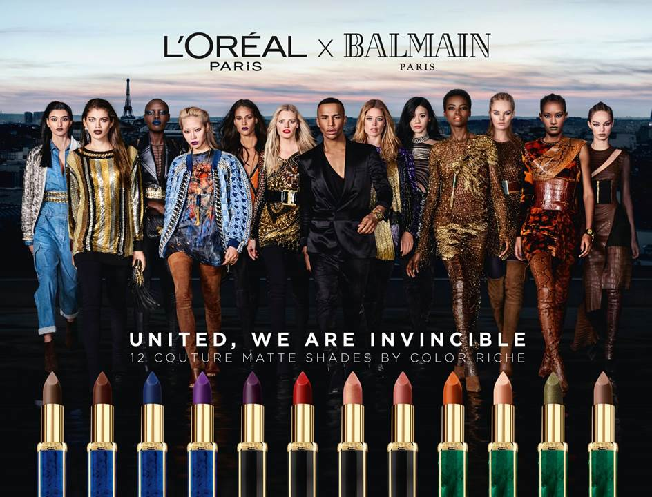 The Beauty of Balmain's Lipstick With L'Oréal? It's Actually Inclusive