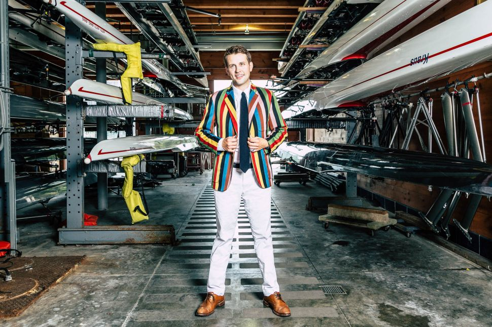 World Medalist Rower Jack Carlson Just Launched a Menswear Brand