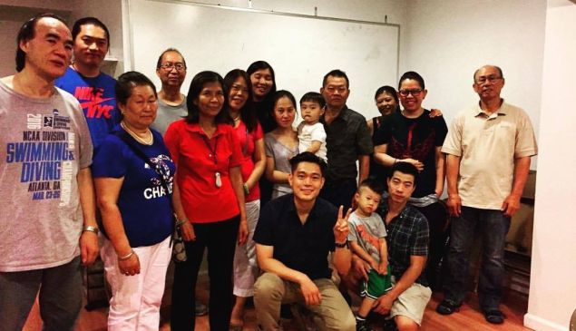 CAAAV: Organizing Asian Communities leaders following a meeting.