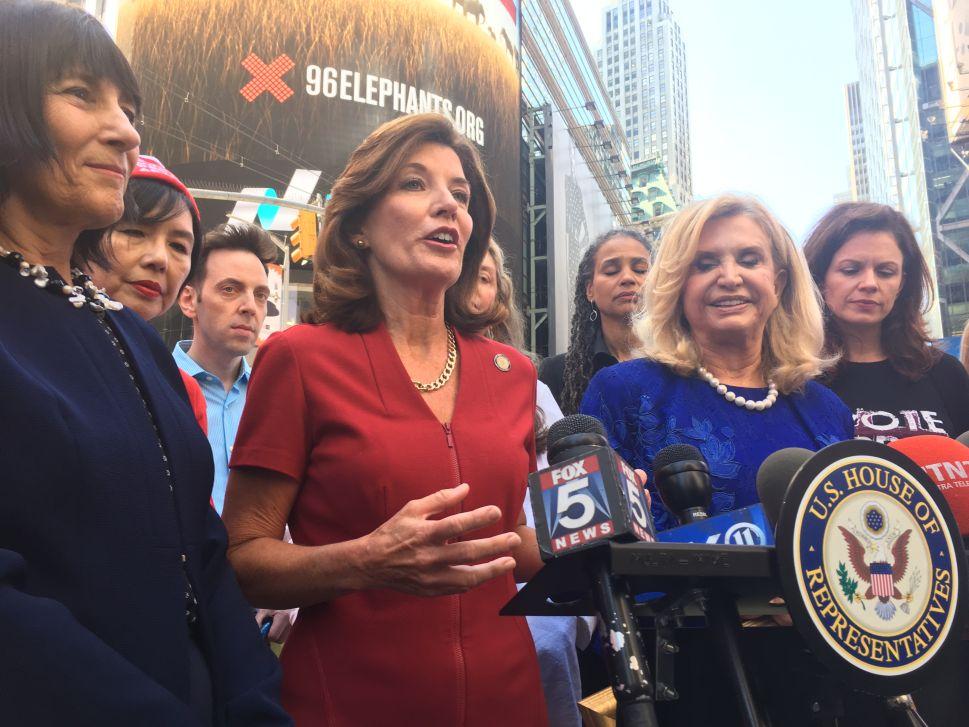 Female Pols Renew Calls for Women's Museum, Equal Rights Amendment