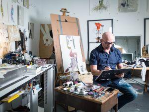 Step inside Bil Donovan's Bushwick studio.