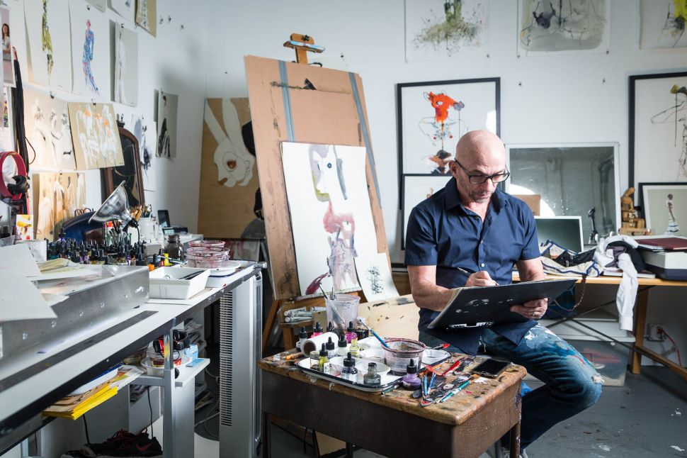 How Fashion Illustrator Bil Donovan Became Dior's First Artist In Residence
