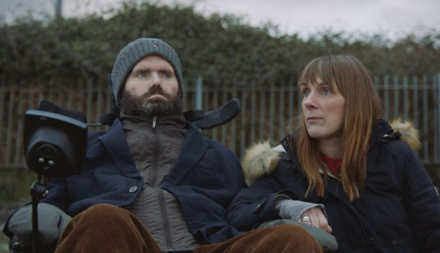 Simon Fitzmaurice and his wife, Ruth Fitzmaurice, in It's Not Yet Dark.