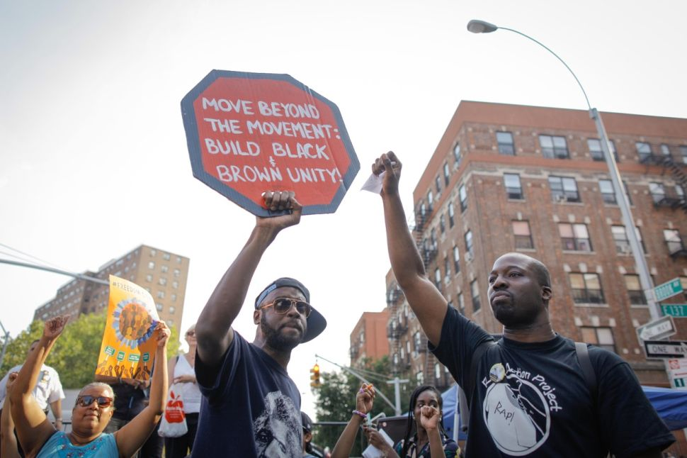 Activists Crash NYPD Event to Protest Police Brutality