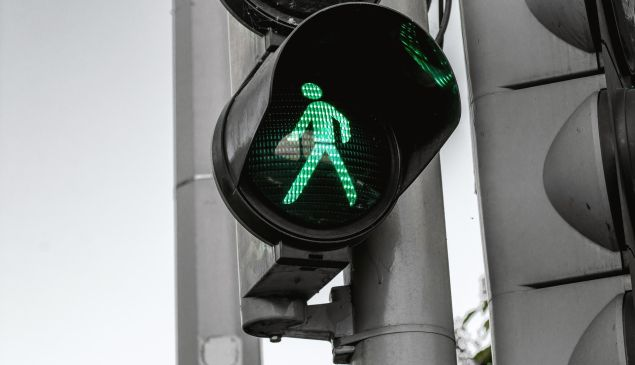 Is it safe to cross?